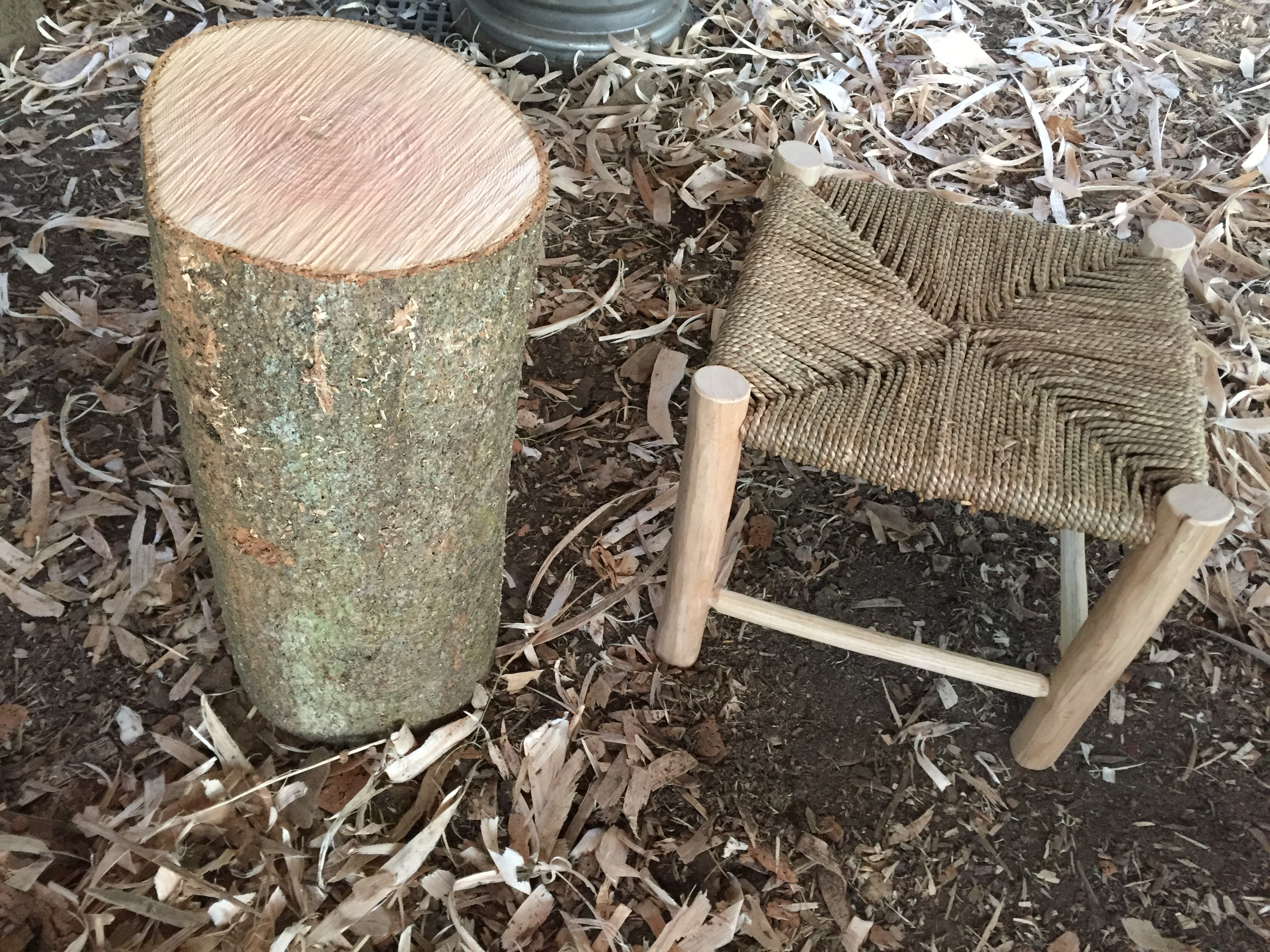 Green Woodworking : 3 day Make a stool