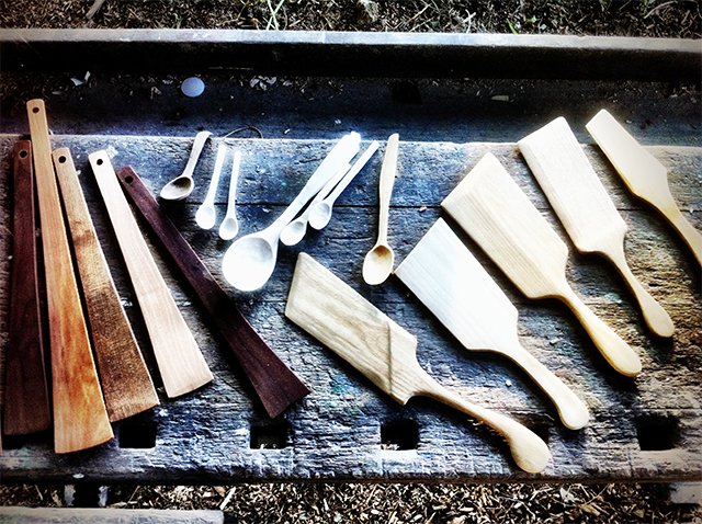 Green Woodworking: Spatula Making